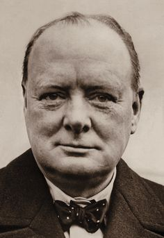 """Winston ChurcHill: """"You have enemies? Good. That means you've stood up for something, sometime in your life."""""""
