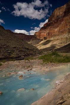 Blue Water, Travertine, Little Colorado