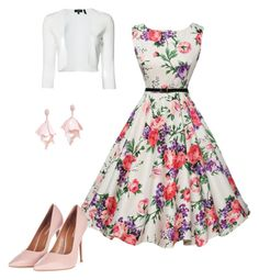 """""""Untitled #217"""" by caitlin-ross-1 on Polyvore featuring WithChic, Topshop, Theory and Oscar de la Renta Pink Label"""