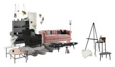 """Studio"" by irondeficient ❤ liked on Polyvore featuring interior, interiors, interior design, home, home decor, interior decorating, UGG Australia, South Shore, Frontgate and Jayson Home"