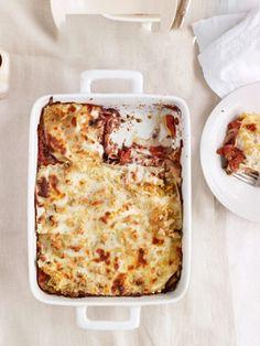Fresh Tomato Lasagna with Olive Tapenade