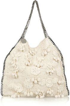 Stella McCartney Falabella Large Crocheted Bag