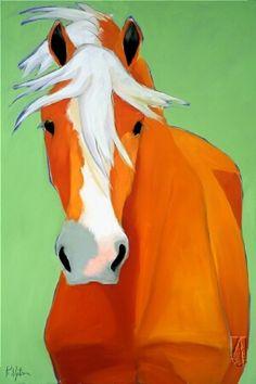 art: Pony # 6, artist: Katie Upton