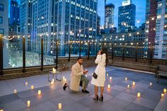 wedding proposal rooftop Proposal on a rooftop in New York Wedding Prep, Wedding Goals, Wedding Events, Dream Wedding, Weddings, Wedding Proposals, Marriage Proposals, Proposal Pictures, Proposal Ideas