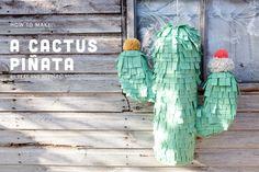 Felt Cactus Piñata