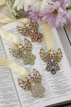 Angel Ribbon Bookmark Ornaments