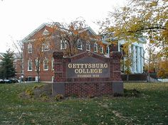 Gettysburg College ~ Gettysburg ~ Pennsylvania Home of the Blue Boy. Most Haunted Places, Scary Places, American Civil War, American History, Gettysburg College, The Blue Boy, Gettysburg Pennsylvania