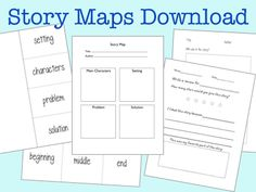 Free Story Maps ... nice for responding to a reading selection.