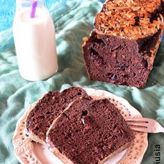 Gofry bezglutenowe wytrawne Brownie, I Want To Eat, Sweet Bread, Banana Bread, Muffin, Good Food, Food And Drink, Vegetarian, Sweets
