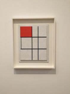 Mondrian composition B