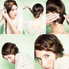 #peinados con # trenza