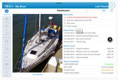 Everything you want and need to know about your boat - all in one place. Designed by a team of sailors and powerboaters, ShipShape is a comprehensive boating app for iPad.  See recent Reminders, Trips, Costs and Checklists and access details straight from your Dashboard.  Know what needs doing and when. See reminders in Notifications on your iPad. Download this App now at Itunes.....https://goo.gl/jUXEdx #loveboats #boatingapps #sailing #powerboats #getorganised #shipshape