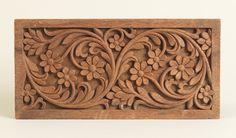 """Sample Panel, """"wood panel sample"""", 1881–92"""