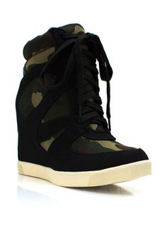 Boot Camp Sneaker Wedges