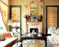 Inspiration for my hobby cottage/room!