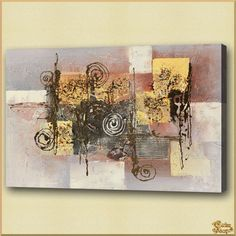 Abstract - 489 Абстракция, картины, картина маслом, сувенир, подарки