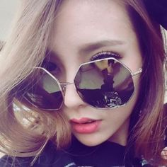 Womens Butterfly Sunglasses Irregular Shape Eyewear