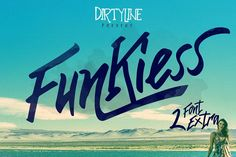 Funkiess - Display Typeface + Bonus from FontBundles.net