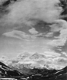 Ansel Adams, Mount McKinley, Denali National Park, Alaska, 1948