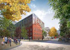 MVRDV chosen to transform a Moscow factory into a housing development