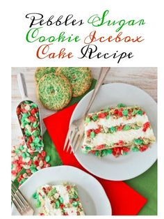 Pebbles Sugar Cookie Icebox Cake Recipe from Having Fun Saving and Cooking. The folks at Post emailed me with a delicious...and EASY...holiday dessert recipe so I thought I would share it with you!