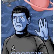 Spock Illustration by Andreas Denzer • www.andreasdenzer.de