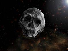 Una calavera acecha La Tierra desde el espacio