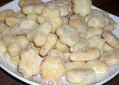 Šlehačkové cukroví recept - TopRecepty.cz Bread, Cookies, Desserts, Recipes, Xmas, Whipped Cream, Stuffed Pepper, Pastry Chef, Oven