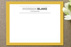 Fun and professional business stationary