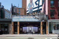 Nike's new showroom and fitness studio in SoHo, 45 Grand, opened this spring in a discreet location, formerly a metalwork shop. Rafael de Cárdenas and Jen Brill designed the space for the Nike Women brand.