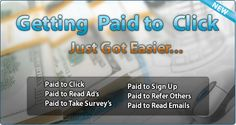 You surf ads and you get paid money. Get paid to view ads by simply signing up and make money from traffic