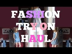 Try On Haul (Forever 21) - YouTube