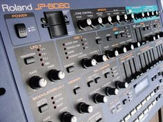 Roland JP8080 #synth