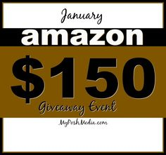Enter to Win $150 Amazon Gift Card Giveaway Ends 1/31