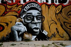 SPIKE LEE STREET ART BERLIN This is Art, not Mine nor yours, but It deserves to be seen...by everyone...Share it...