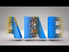 (18) Cinema 4D R18 Tutorial Voronoi Fracture - YouTube