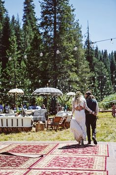 Laid Back Californian Wild Meadow Festival Wedding (BridesMagazine.co.uk)