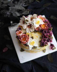 "231 Likes, 1 Comments - 베러케이크/BetterCake 버터크림&앙금플라워케익 (@better_cake_2015) on Instagram: ""Done by my student from Malaysia  - Buttercream + Beanpaste flower cake (베러 전문가반/Professional…"""