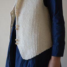 Shawl collar vest KIT