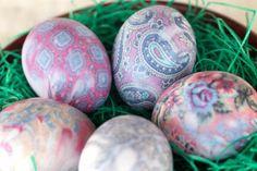 20 Ideas de Decoración del huevo de Pascua