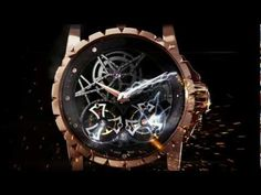 Roger Dubuis - The emblematic Excalibur Skeleton Double Flying Tourbillon #roger-dubuis #horlogerie @calibrelondon