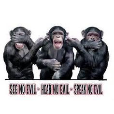 Image detail for -... Home > Products > See No Evil, Hear No Evil, Speak No Evil – T-Shirt