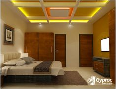 Let your bedroom be the center of attraction! To know more: www.gyproc.in/