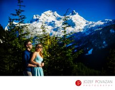 Summer dress at winter e-session @seatoskygondola @povazanphotography Best Award winning Vancouver wedding photographers Povazan Photography - Exif:  (more exif)All Exif (hide).