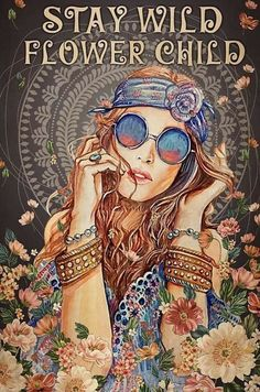 Canvas Frame, Canvas Wall Art, Hippie Posters, Stay Wild Moon Child, Diamond Wall, Hippie Life, Graphic Quotes, Home Decor Paintings, Living Room Art