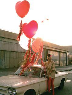 Geronimo Valentine's Balloons.