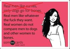 This. Always this. Finally a real woman post I can get behind.