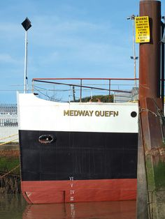 The Medway Queen moored at Gillingham pier [shared]