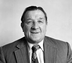 Sport Football England August 1974 Liverpool FC Photocall A portrait of Liverpool FC Manager Bob Paisley