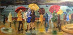 Les parapluies d'après. ....